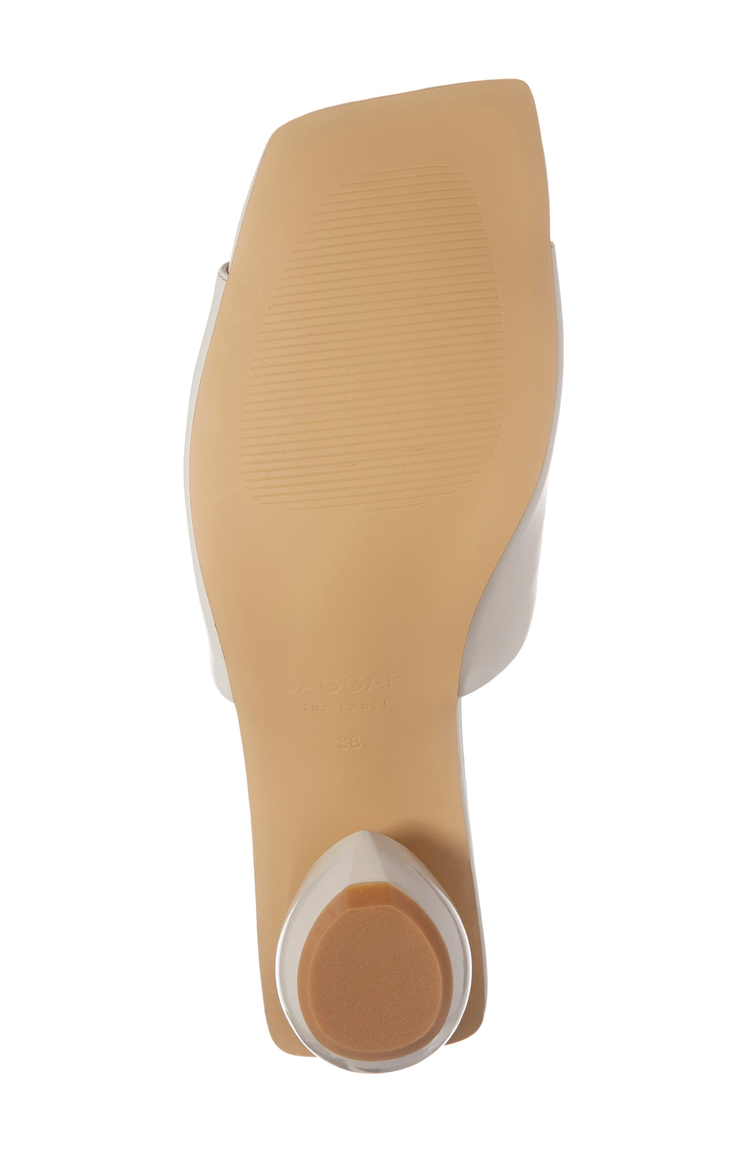 ,                             Ball Heel Slide Sandal,                             Alternate thumbnail 8, color,                             CREAM LEATHER