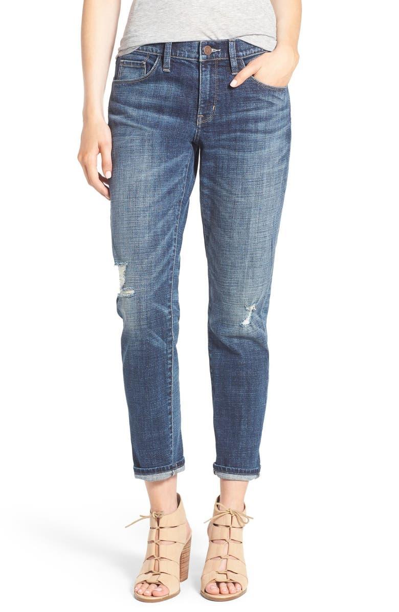 TREASURE & BOND Treasure&Bond Ankle Boyfriend Jeans, Main, color, 400