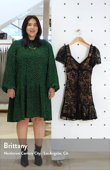 Smitten Lace Minidress, sales video thumbnail