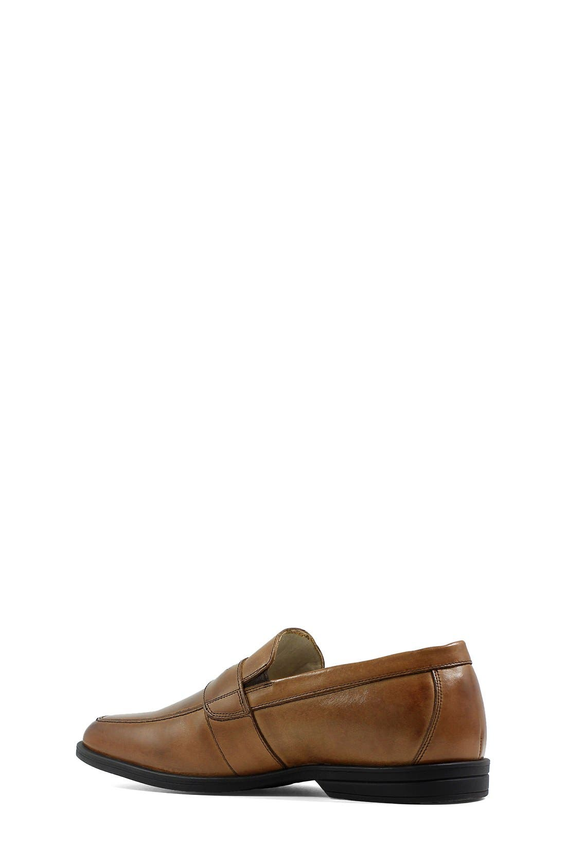 ,                             'Reveal' Penny Loafer,                             Alternate thumbnail 2, color,                             COGNAC LEATHER