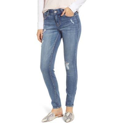 Jag Jeans Cecilia Distressed Skinny Jeans, Blue