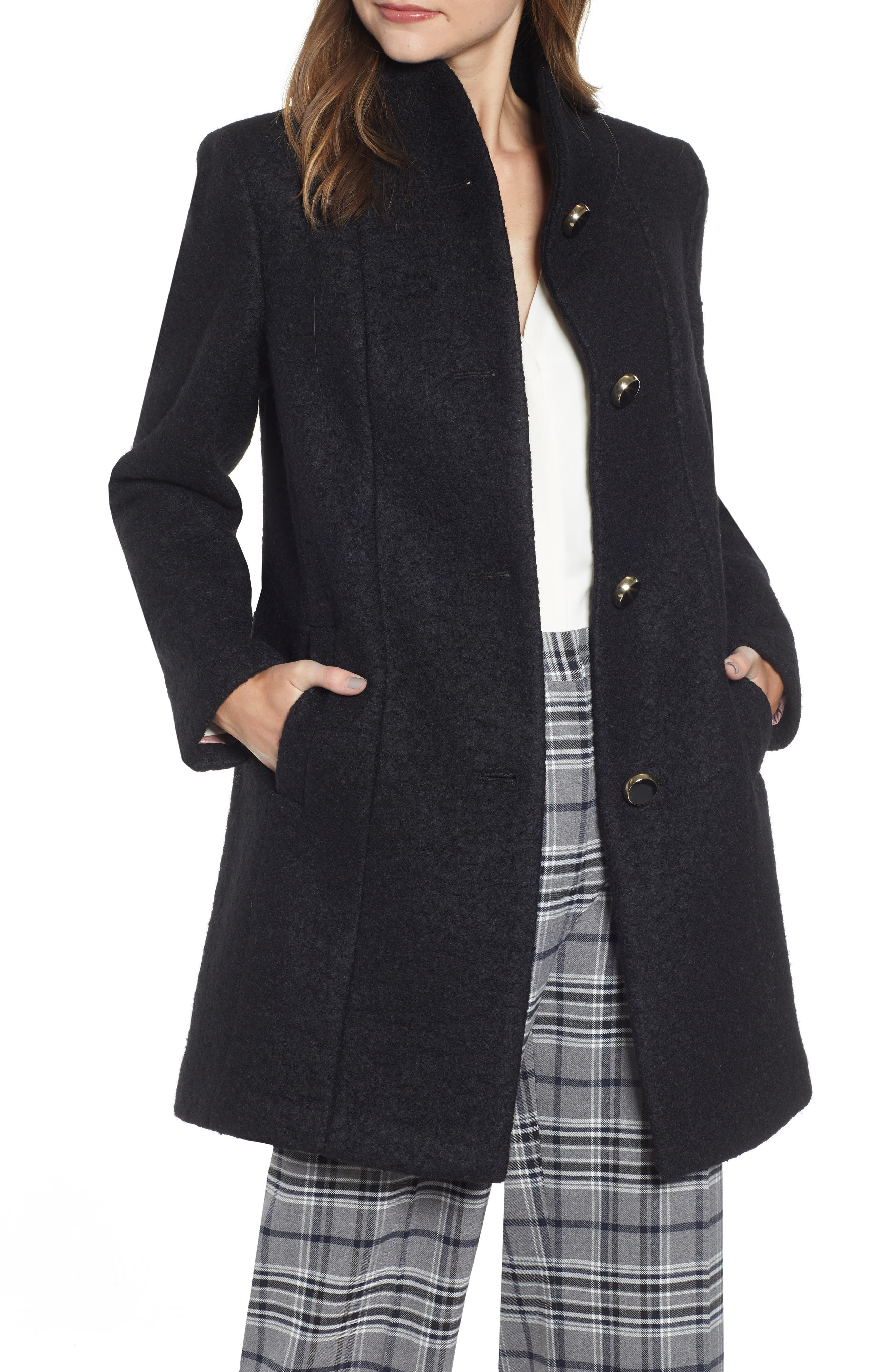 kate spade new york wool blend coat