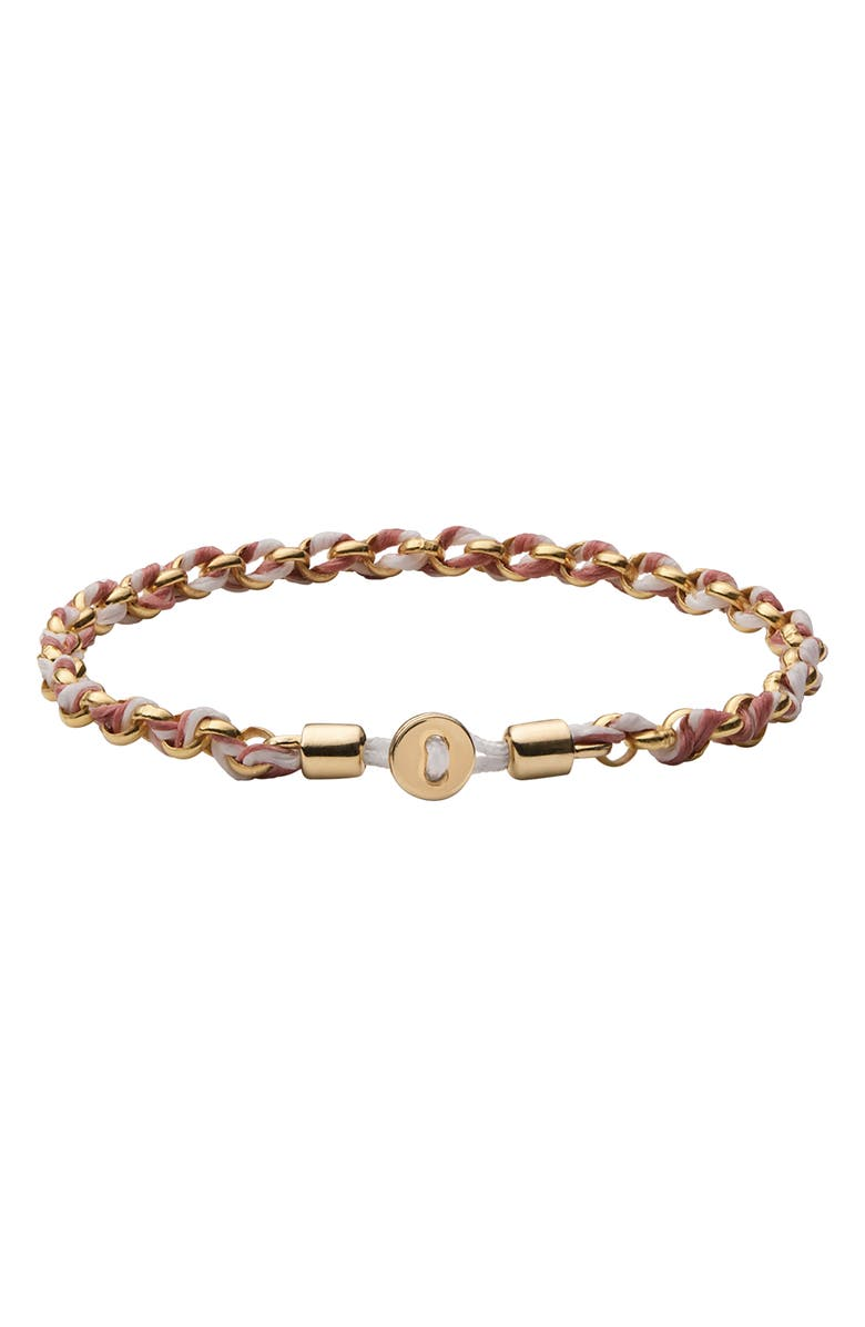 MIANSAI Nexus Chain & Rope Bracelet, Main, color, CANYON ROSE