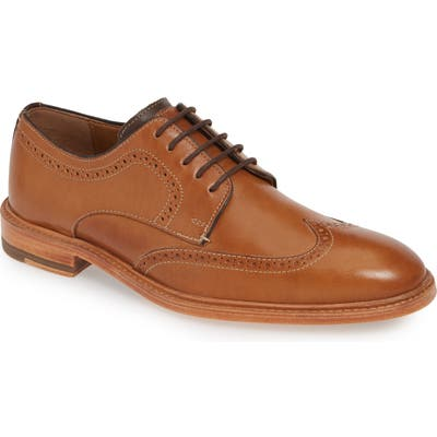J & m 1850 Campbell Wingtip, Brown