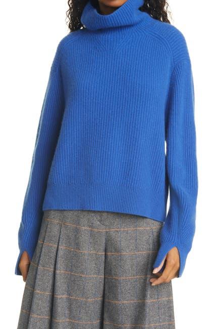 Image of Rag & Bone Pierce Ribbed Cashmere Turtleneck Sweater