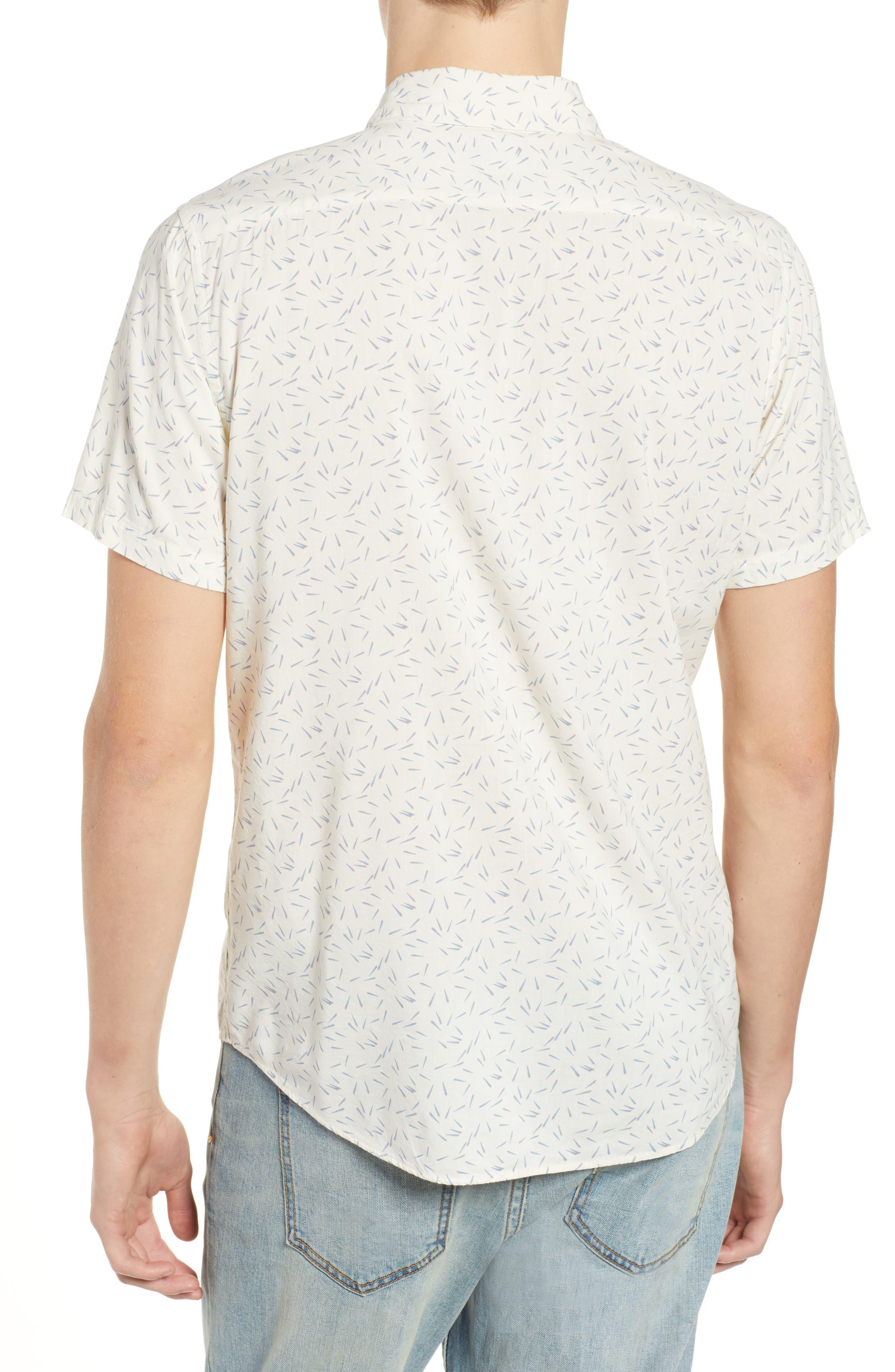 ,                             Pins & Needles Slim Fit Woven Shirt,                             Alternate thumbnail 13, color,                             900