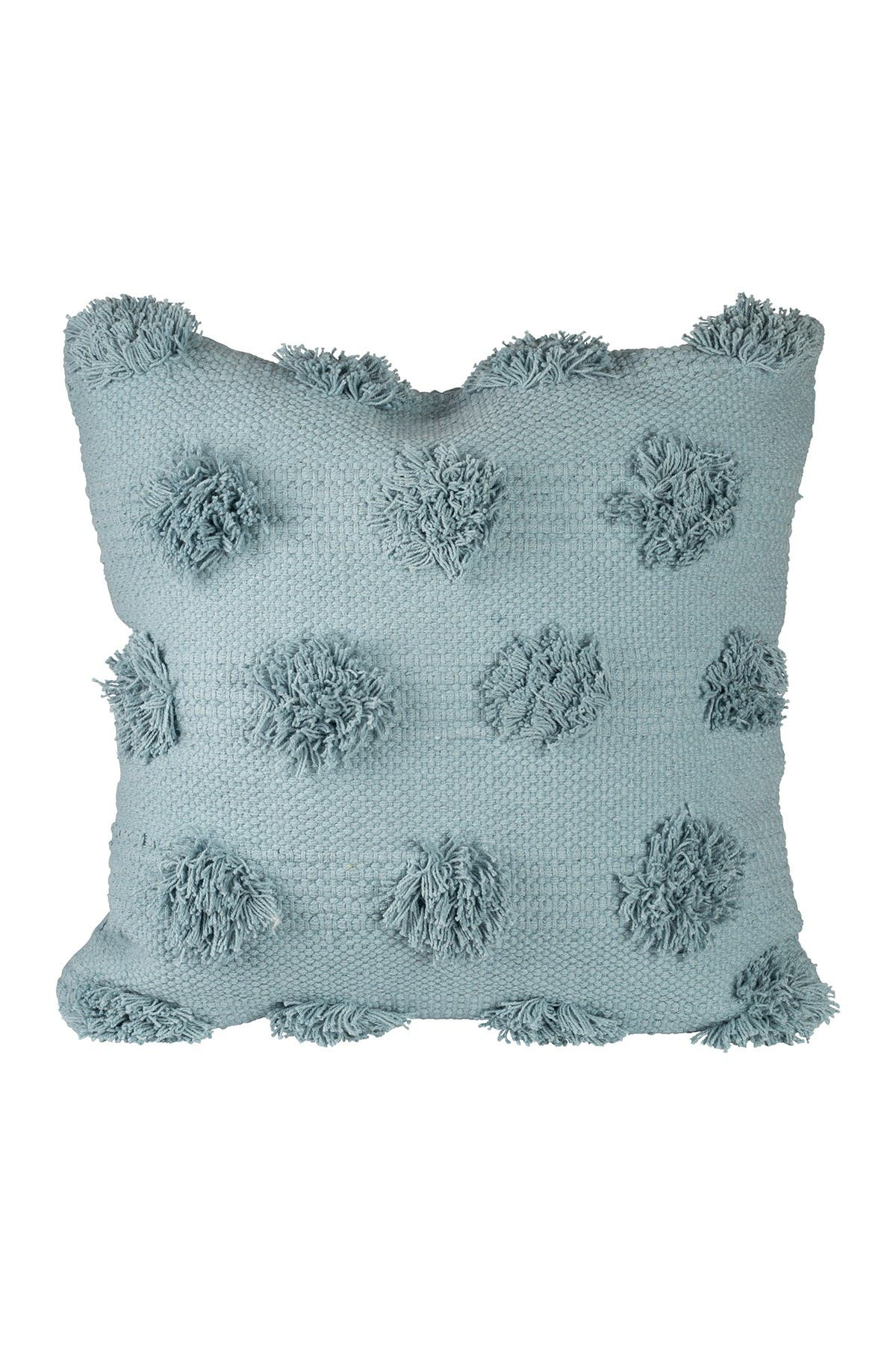 "Image of Home Essentials and Beyond Blue Textured Dot Pillow - 20"" x 20"""