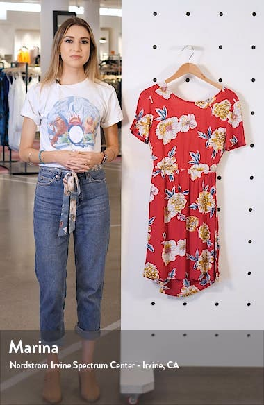 Hello Cilento Back Cutout Minidress, sales video thumbnail