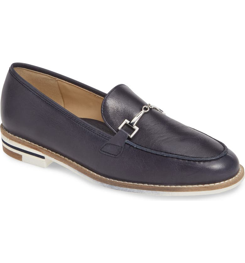 ARA Krista Loafer, Main, color, BLAU INDIO LEATHER