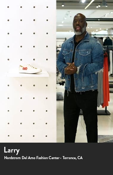 x Converse Chuck Taylor<sup>®</sup> Low Top Sneaker, sales video thumbnail