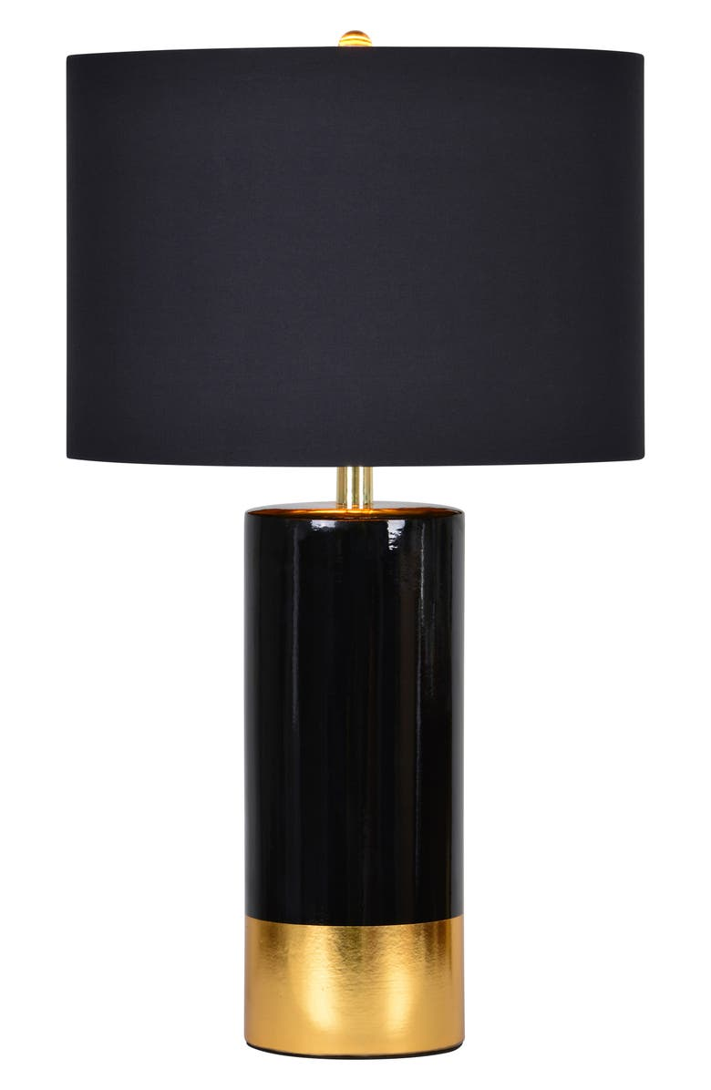 RENWIL The Tuxedo Table Lamp, Main, color, BLACK/ GOLD