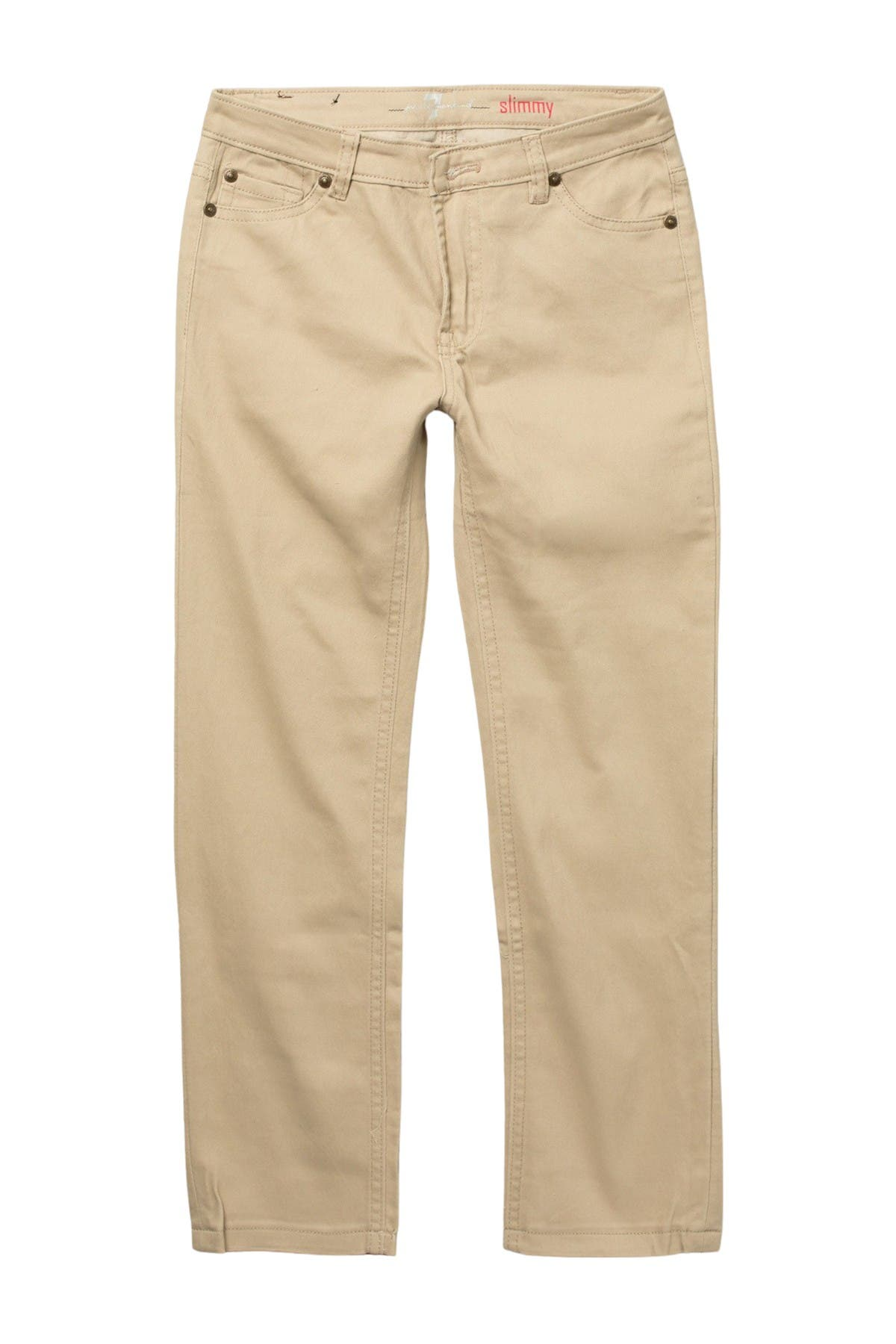 Image of 7 For All Mankind Slimmy Stretch Brush Twill Pants