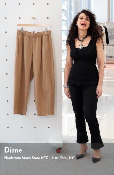 Crop Wool Lantern Pants, sales video thumbnail