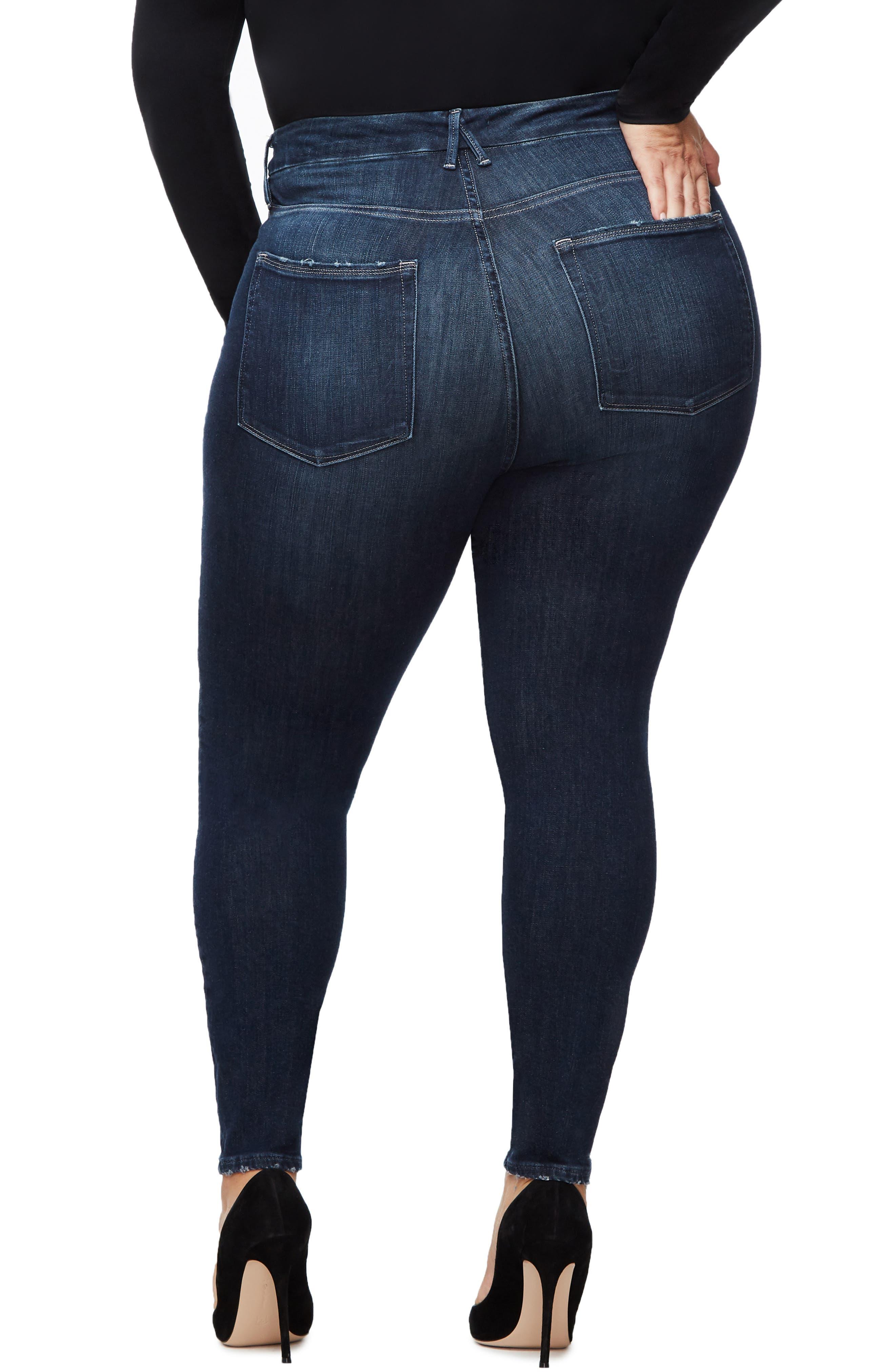 ,                             Good Legs Ankle Skinny Jeans,                             Alternate thumbnail 30, color,                             405