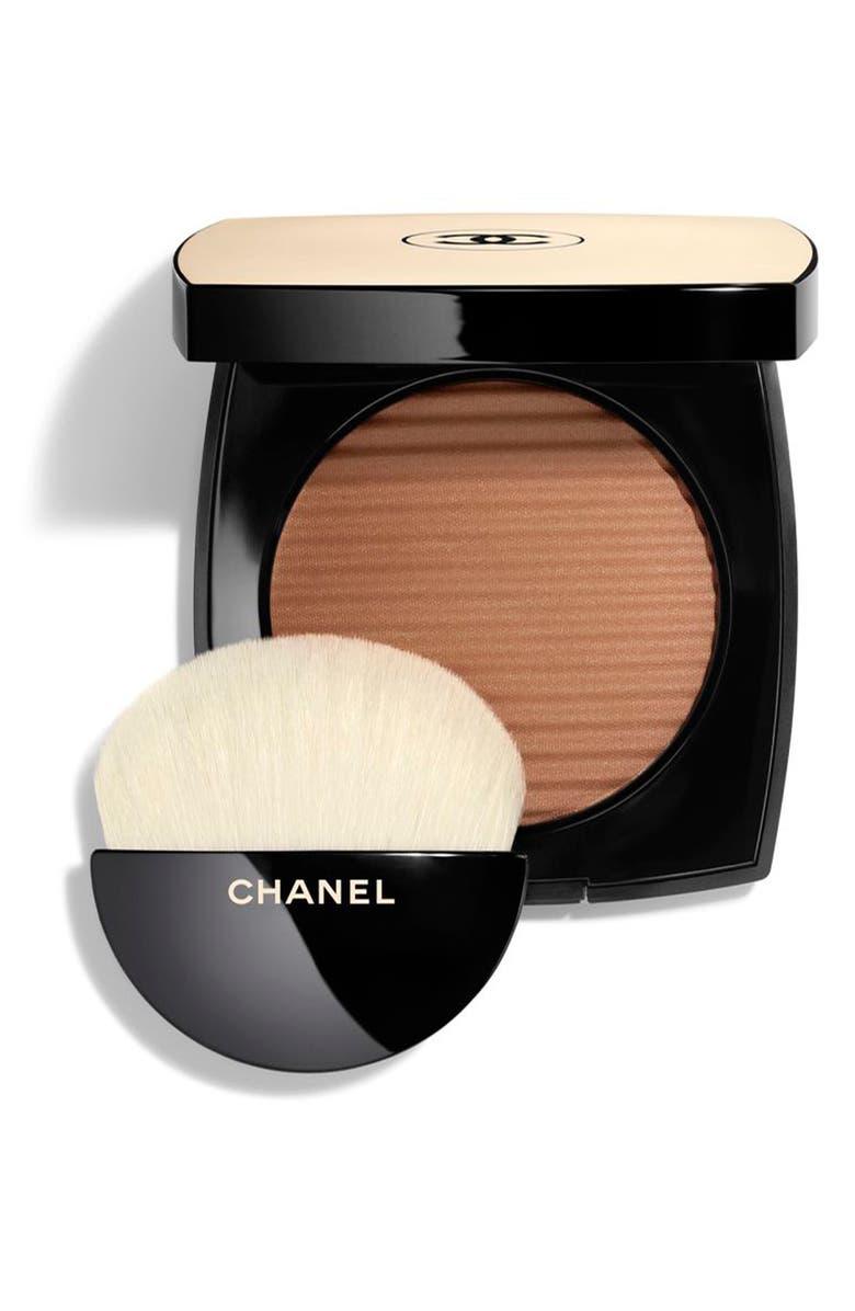 CHANEL LES BEIGES HEALTHY GLOW <br />Luminous Color Powder Bronzer & Highlighter, Main, color, DEEP