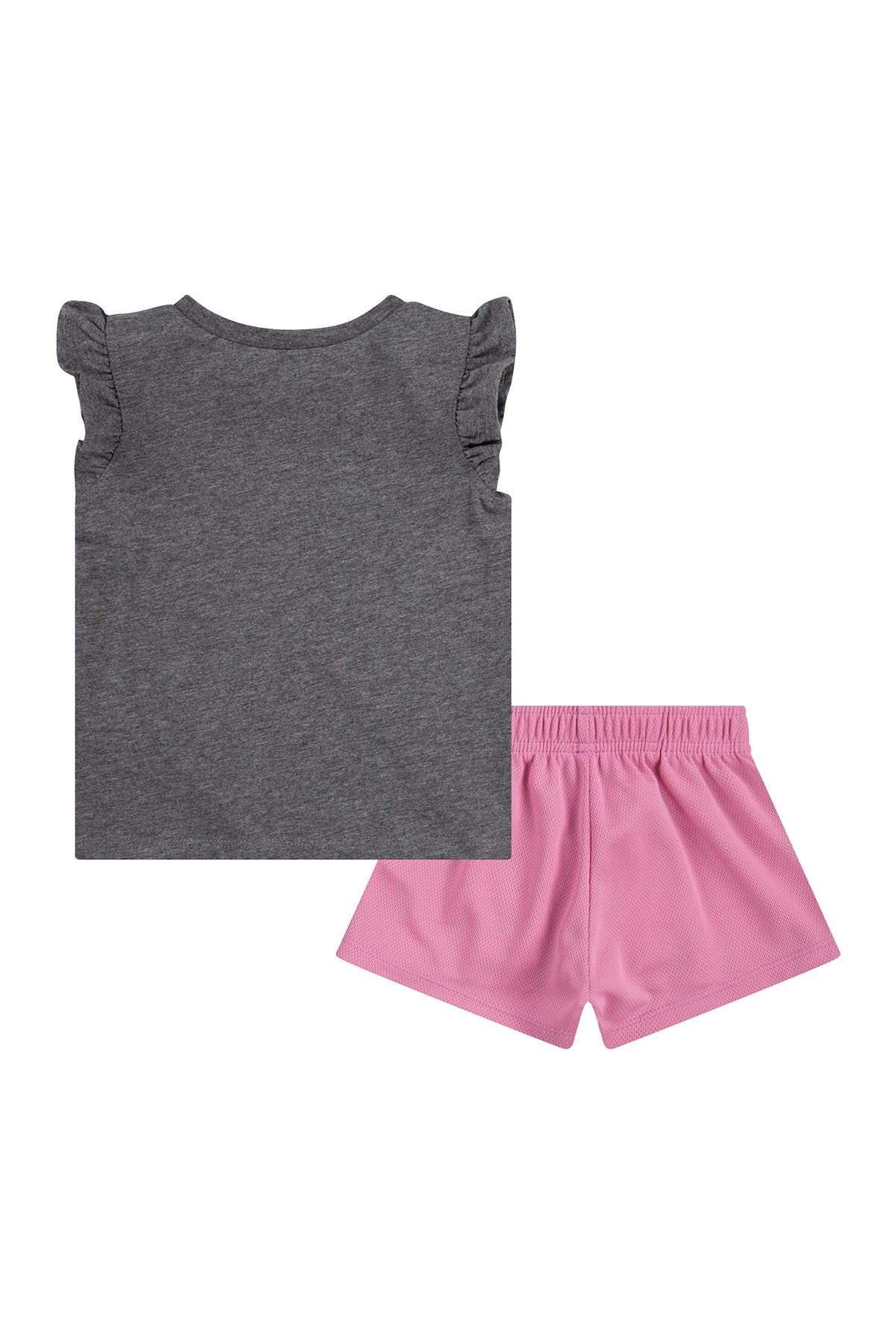 Image of Nike Girls Crush It Graphic Tee & Shorts Set