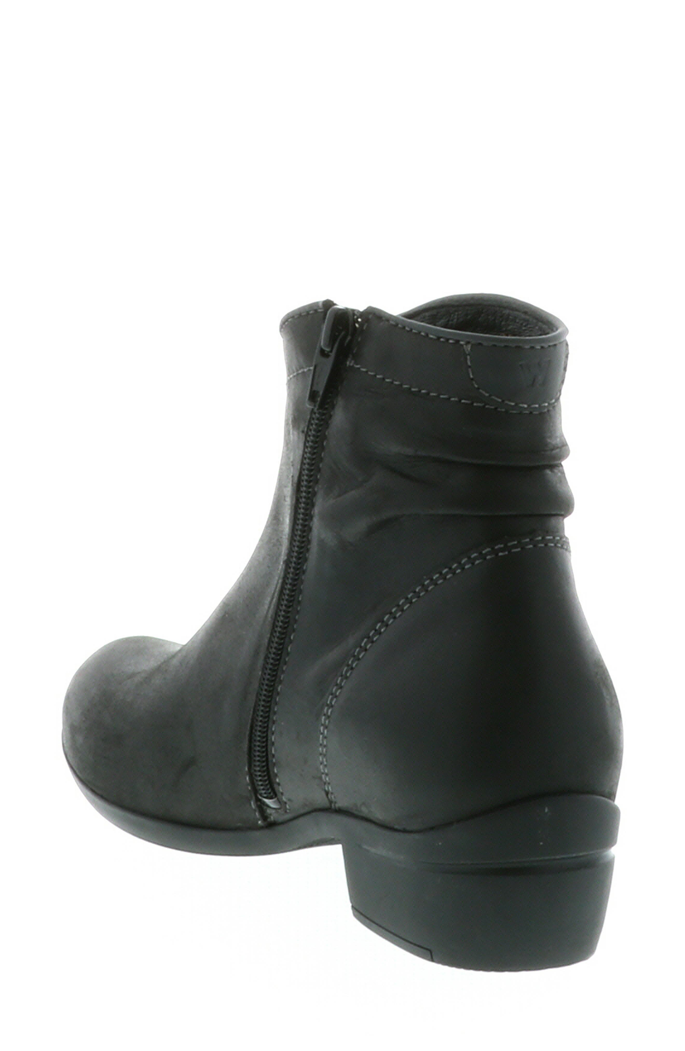 ,                             Winchester Bootie,                             Alternate thumbnail 2, color,                             BLACK/ BLACK LEATHER