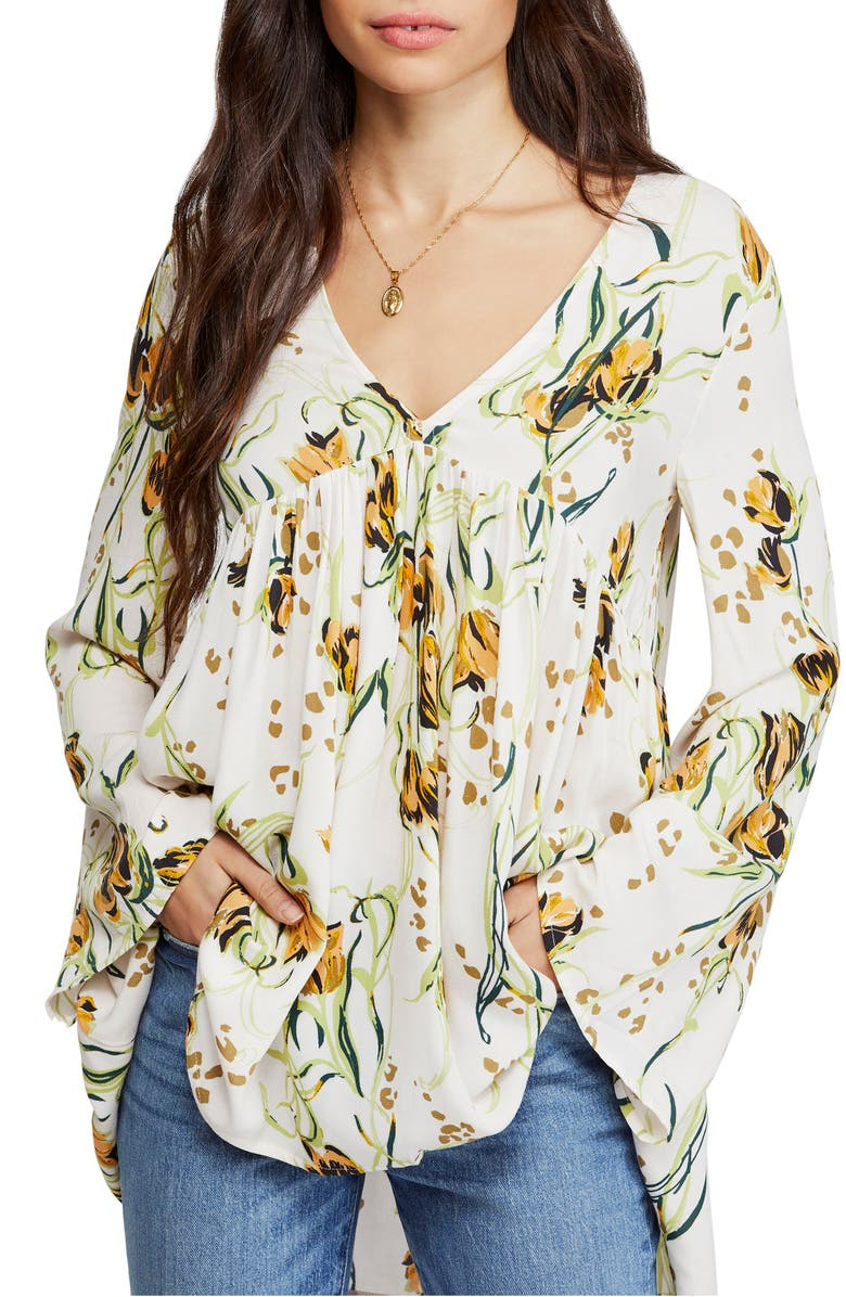 FREE PEOPLE Bella Print Tunic, Main, color, 904