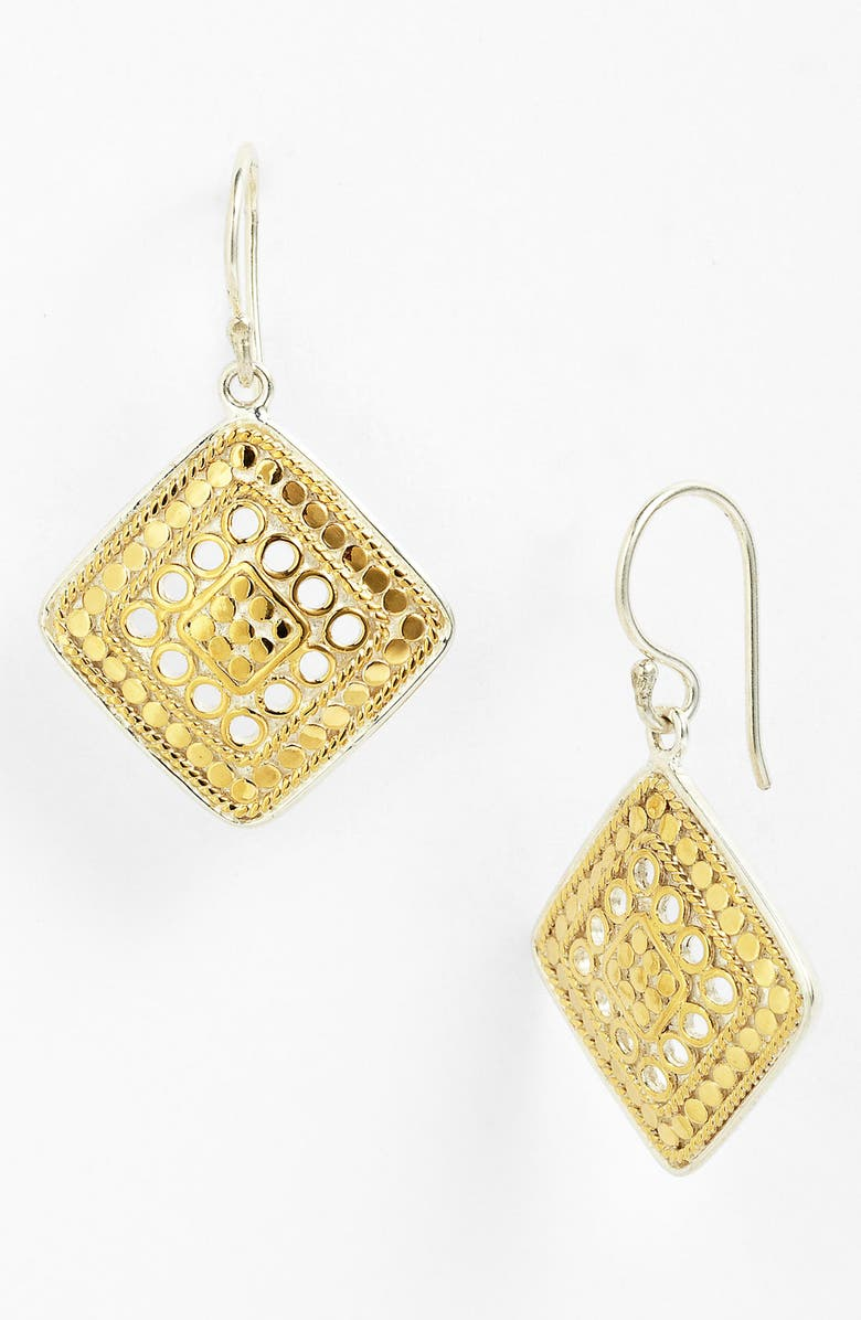 ANNA BECK 'Gili' Wire Rimmed Drop Earrings, Main, color, 710