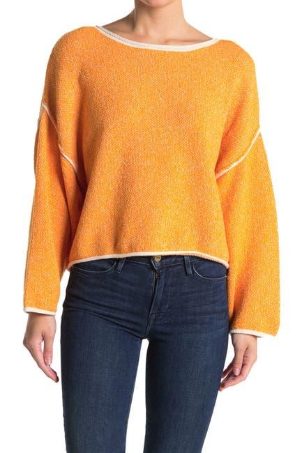 Image of Free People Bardot Drop Shoulder Sweater