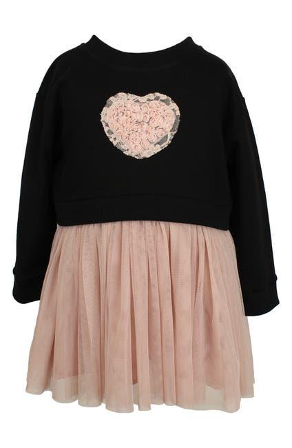 Image of Popatu Heart Applique Dress