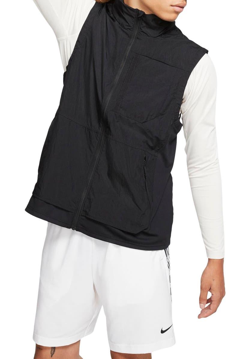 NIKE Flex Vest, Main, color, BLACK/ BLACK