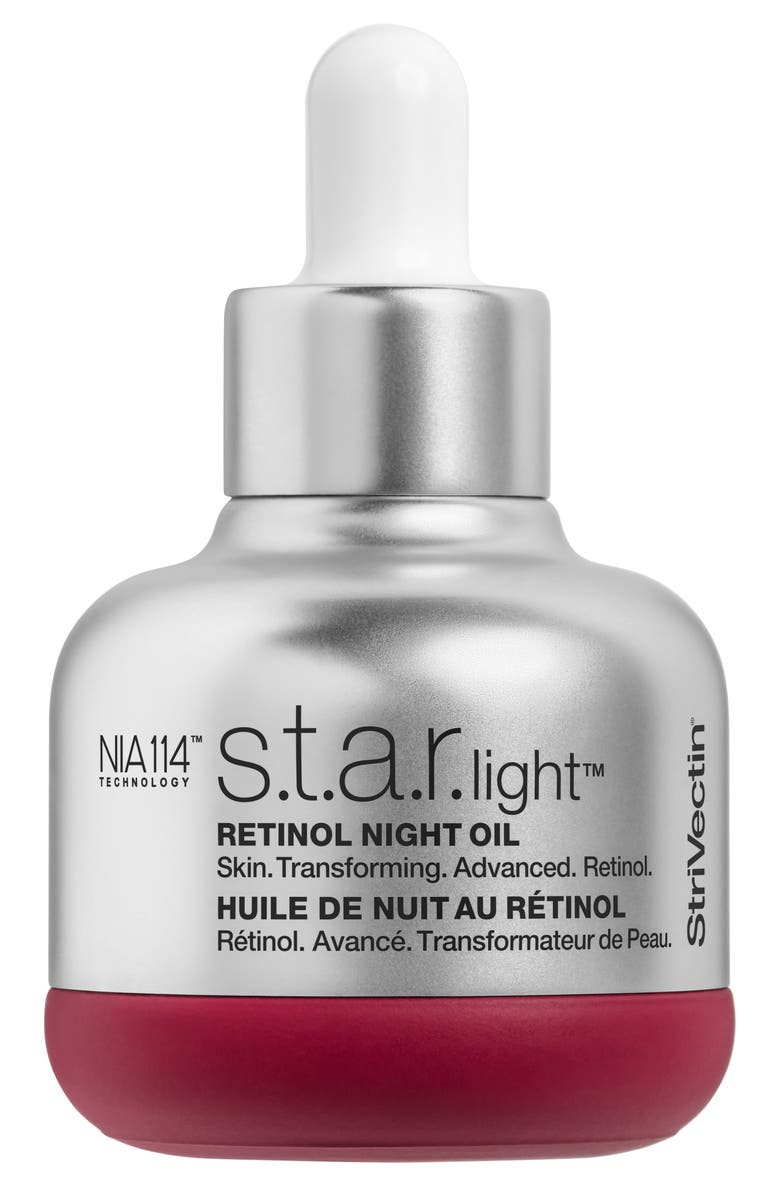 STRIVECTIN<SUP>®</SUP> StriVectin STAR.light Retinol Night Oil, Main, color, NO COLOR