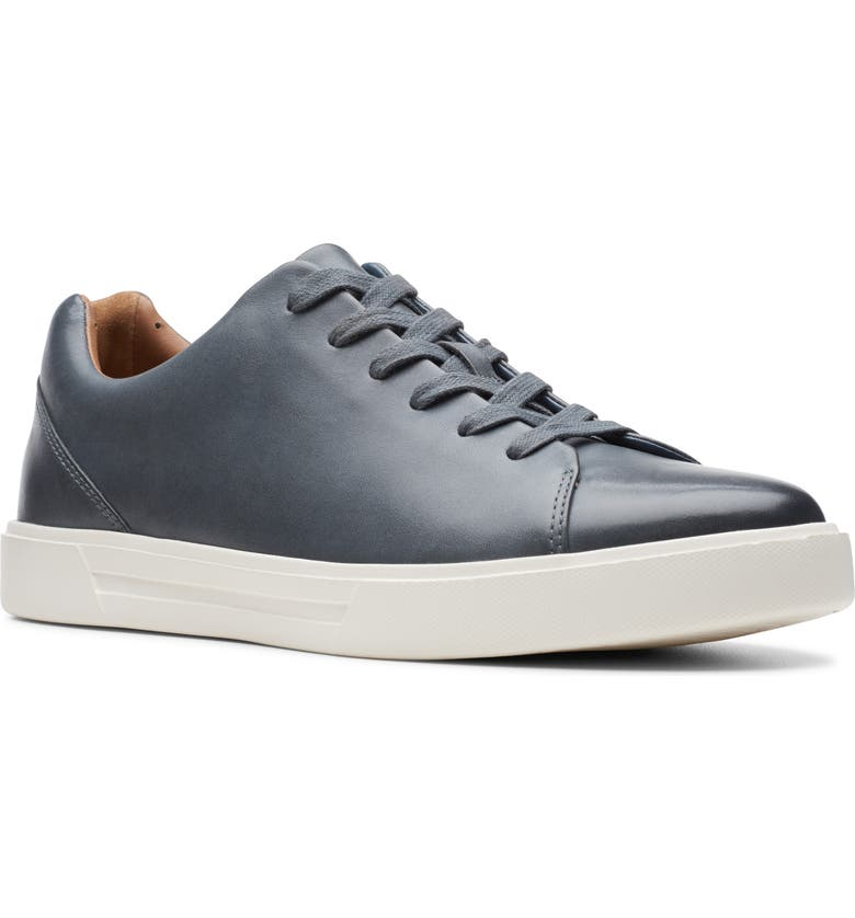 CLARKS<SUP>®</SUP> Un Costa Lace Up Sneaker, Main, color, DARK BLUE LEATHER