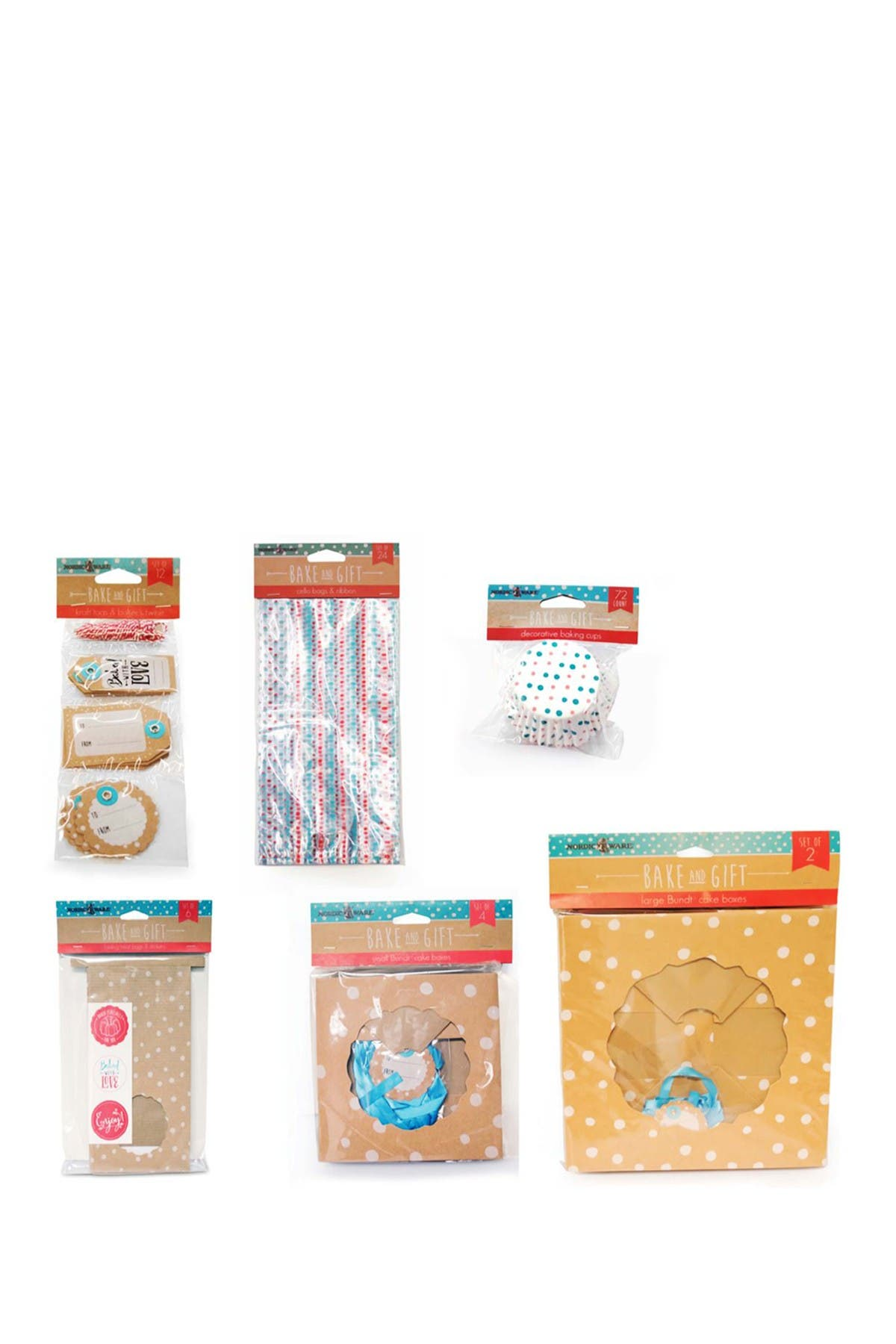 Image of Nordic Ware Baking Combo Gift Pack