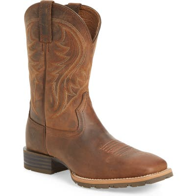 Ariat Hybrid Rancher Cowboy Boot- Brown