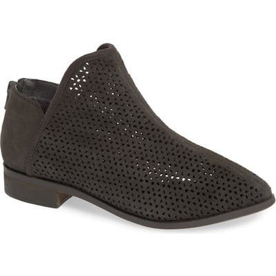 Kelsi Dagger Brooklyn Alley Perforated Bootie- Grey