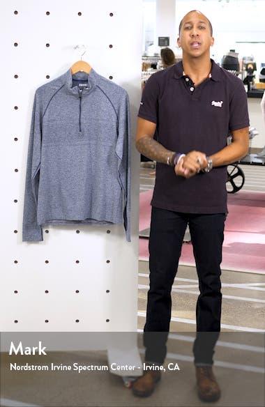 Seamless Quarter Zip Pullover, sales video thumbnail