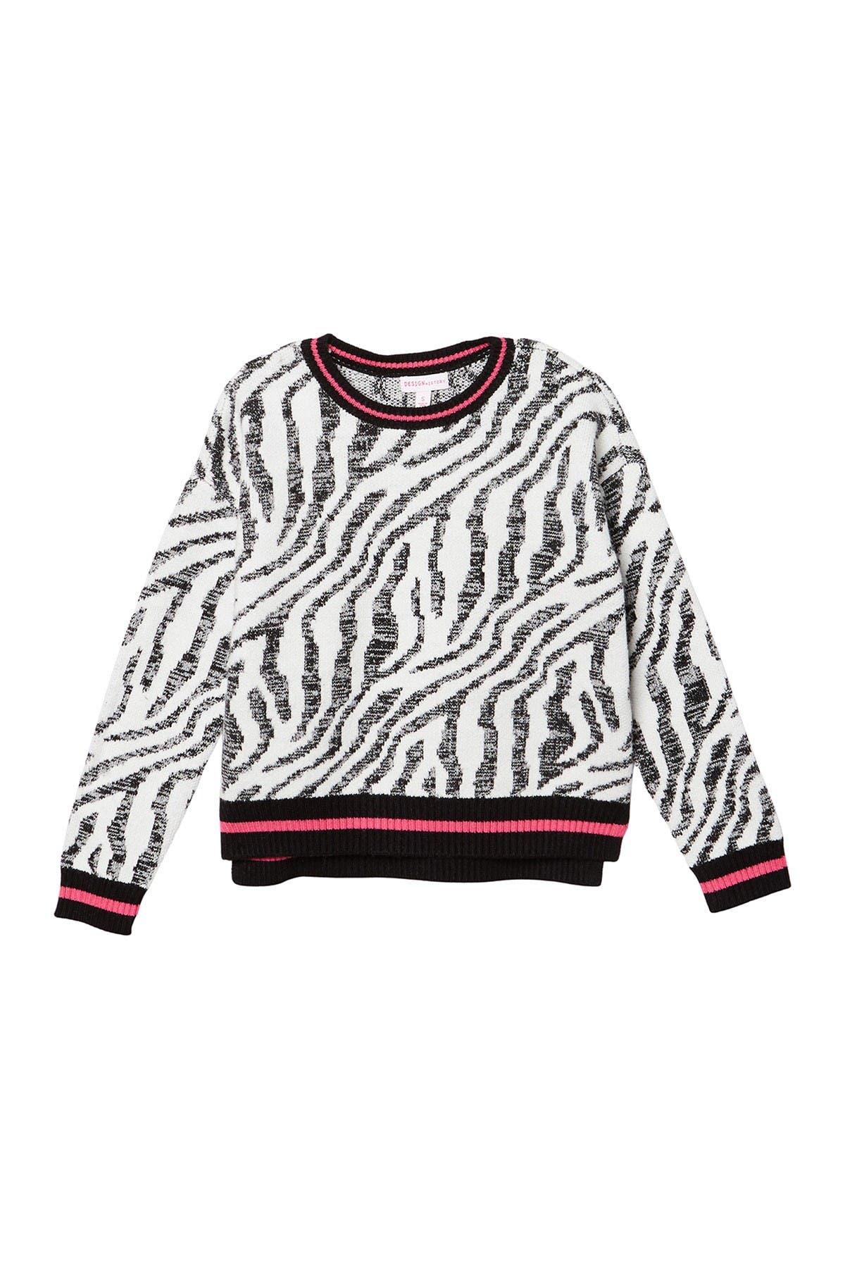 Image of Design History Zebra Sweater