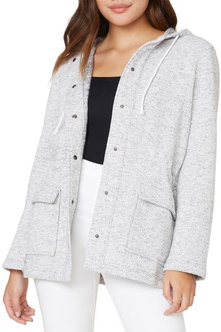 Image of BB Dakota Alright Hooded Knit Jacket