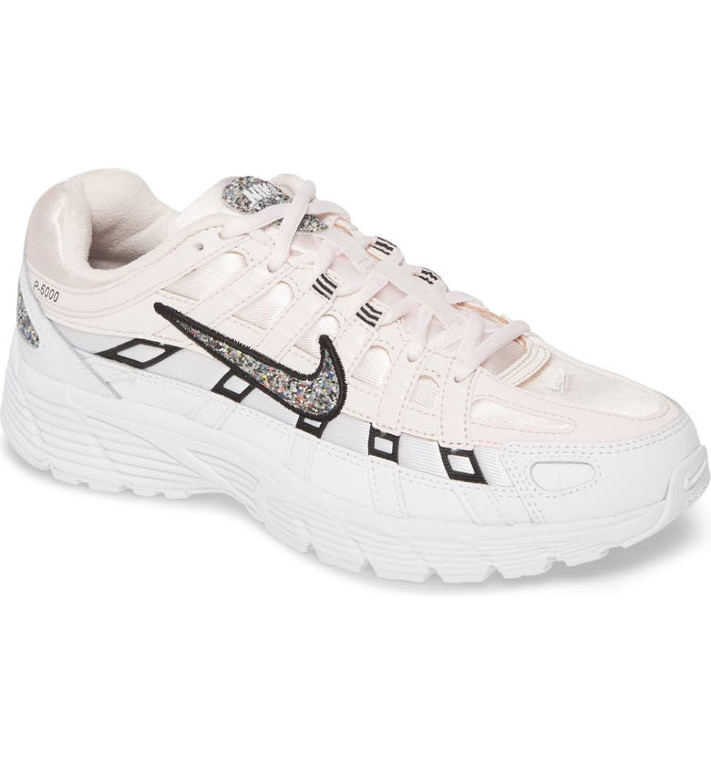 NIKE P-6000 SE Sneaker, Main, color, PINK/ MULTI/ WHITE/ BLACK