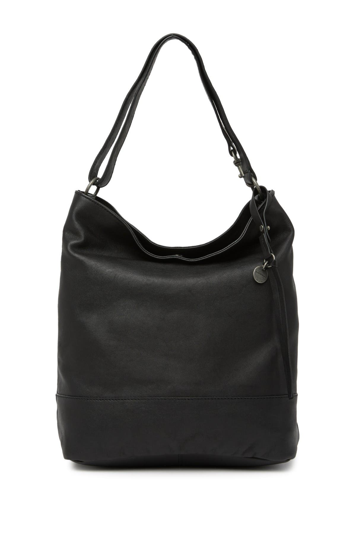 Image of Lucky Brand Lina Leather Bucket Shoulder Bag