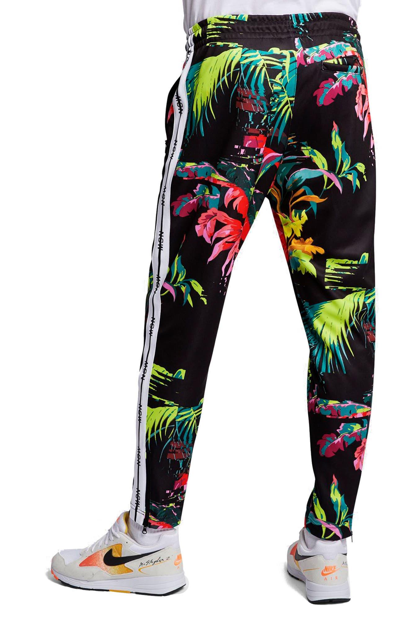 ,                             Sportswear NSW Track Pants,                             Alternate thumbnail 2, color,                             CYBER/ BLACK/ WHITE