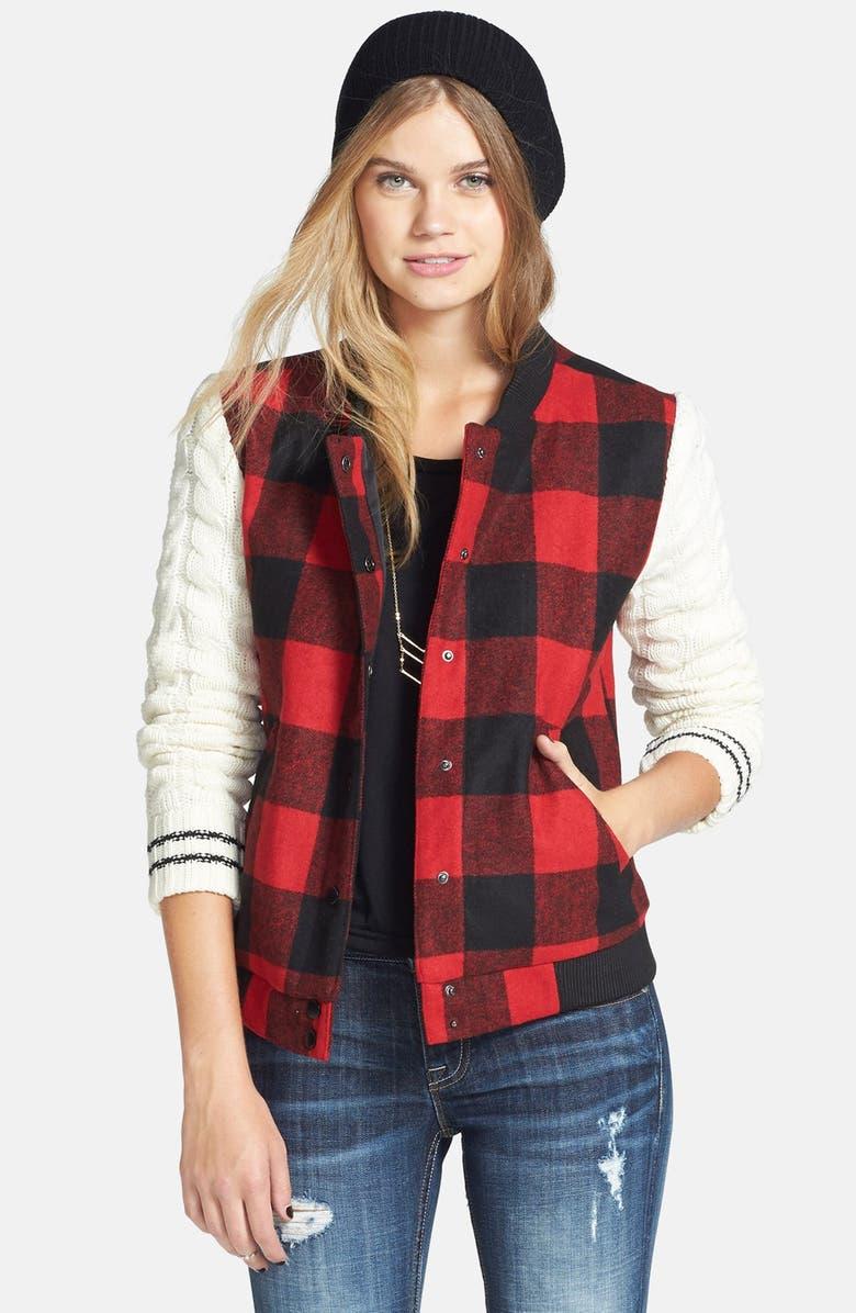 THREAD & SUPPLY Sweater Sleeve Jacket, Main, color, 600
