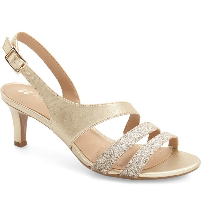 NATURALIZER Taimi Sandal, Main, color, GOLD PEARLIZED