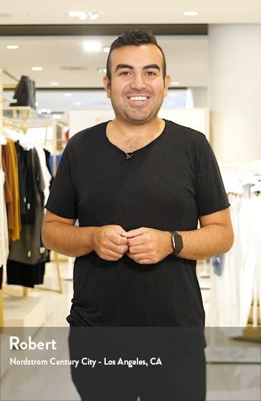 Sequin Mock Neck Long Sleeve Cocktail Dress, sales video thumbnail