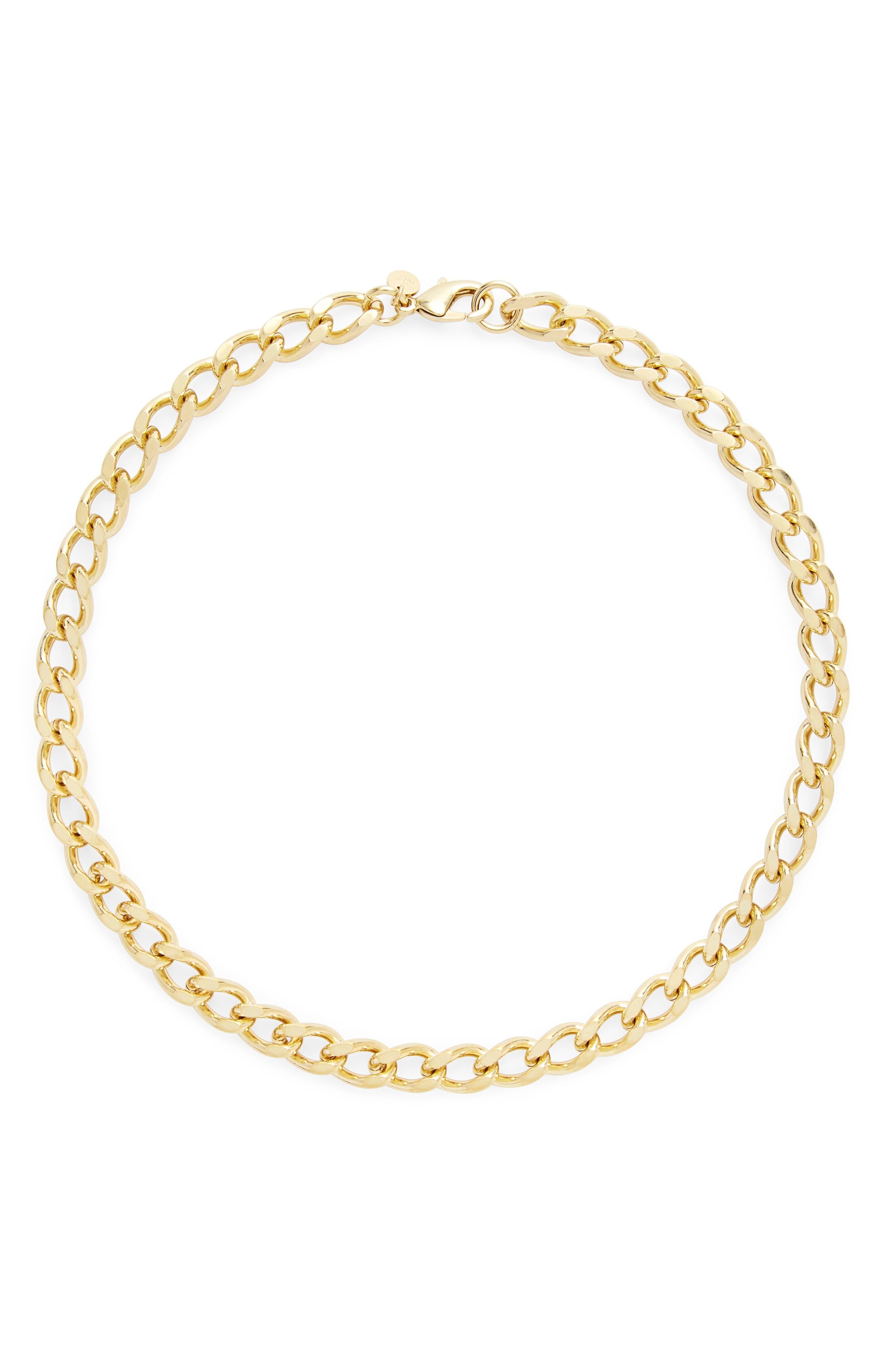 Gigi Curb Chain Necklace