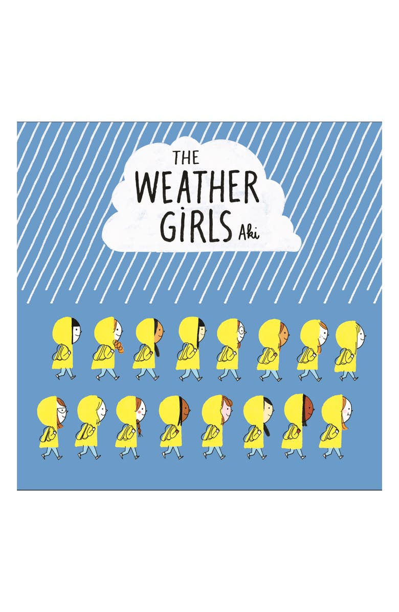 MACMILLAN 'The Weather Girls' Book, Main, color, BLUE / WHITE / YELLOW