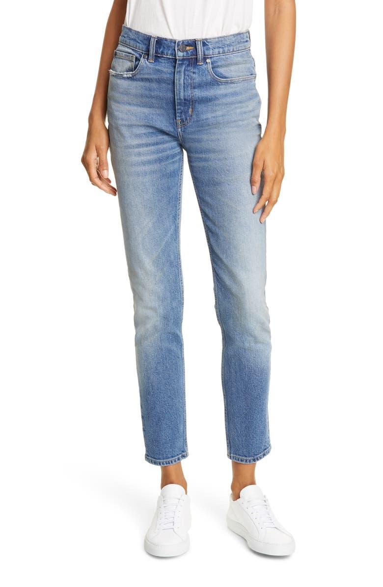 LA VIE REBECCA TAYLOR Ines Slim Fit Ankle Jeans, Main, color, FAVORI WASH