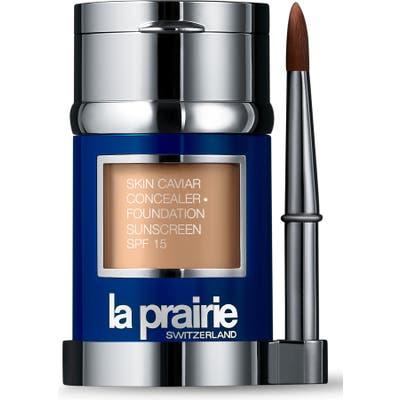 La Prairie Skin Caviar Concealer + Foundation Sunscreen Spf 15 - Peche