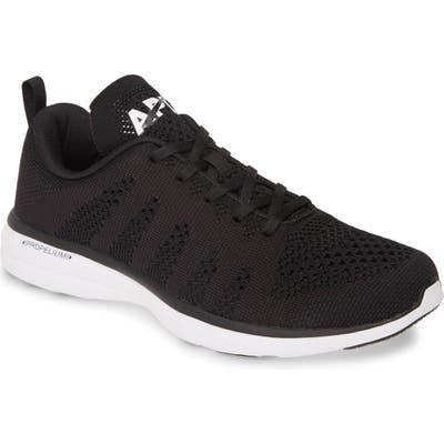 Apl Techloom Pro Knit Running Shoe - Black