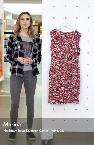 Bright Burst Twist Jersey Dress, sales video thumbnail