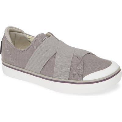 Keen Elsa Iii Slip-On Sneaker- Grey