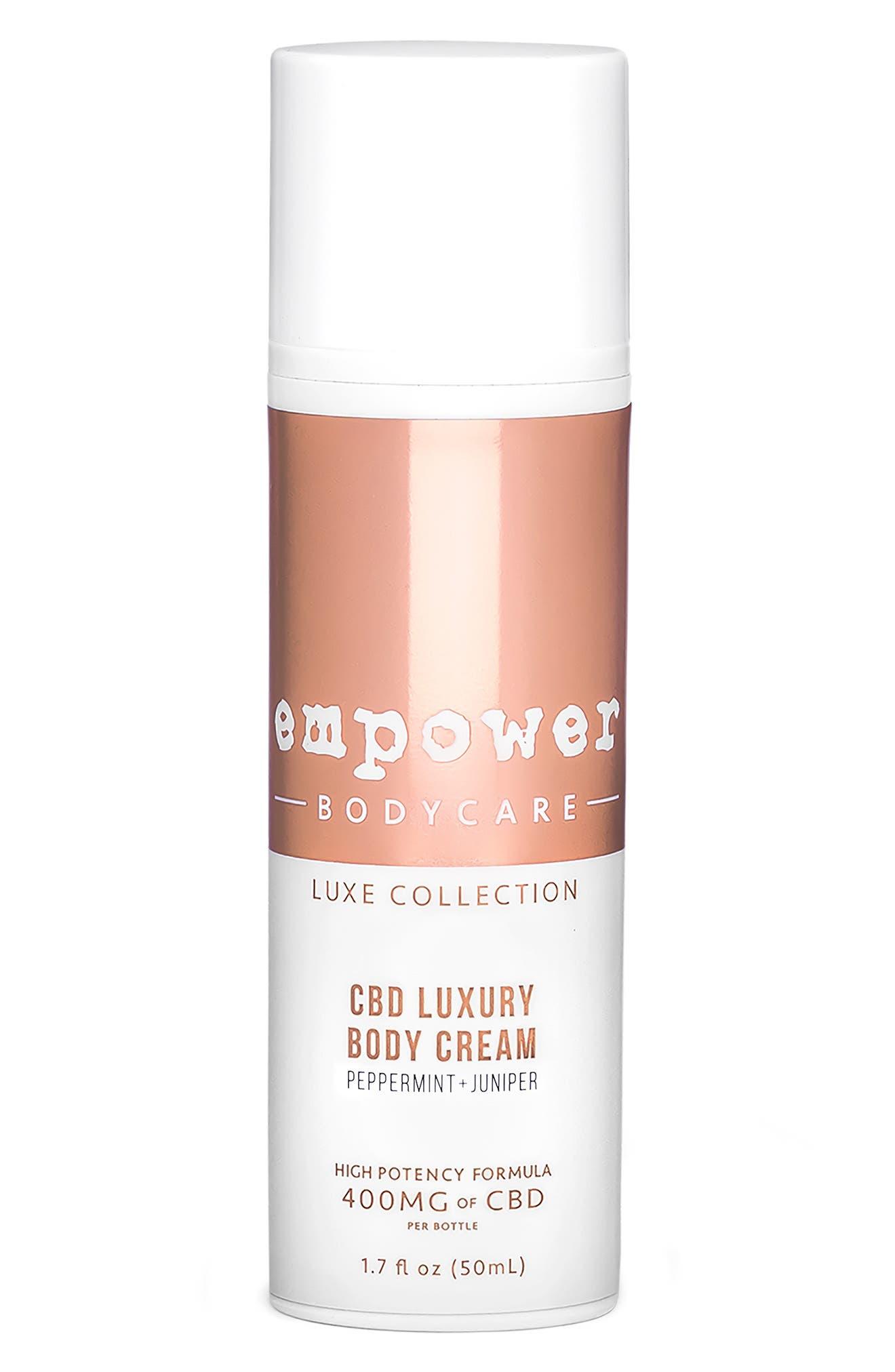 Peppermint Juniper CBD Luxury Body Cream in No Color at Nordstrom
