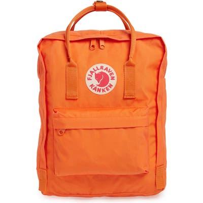 Fjallraven Kanken Water Resistant Backpack - Orange