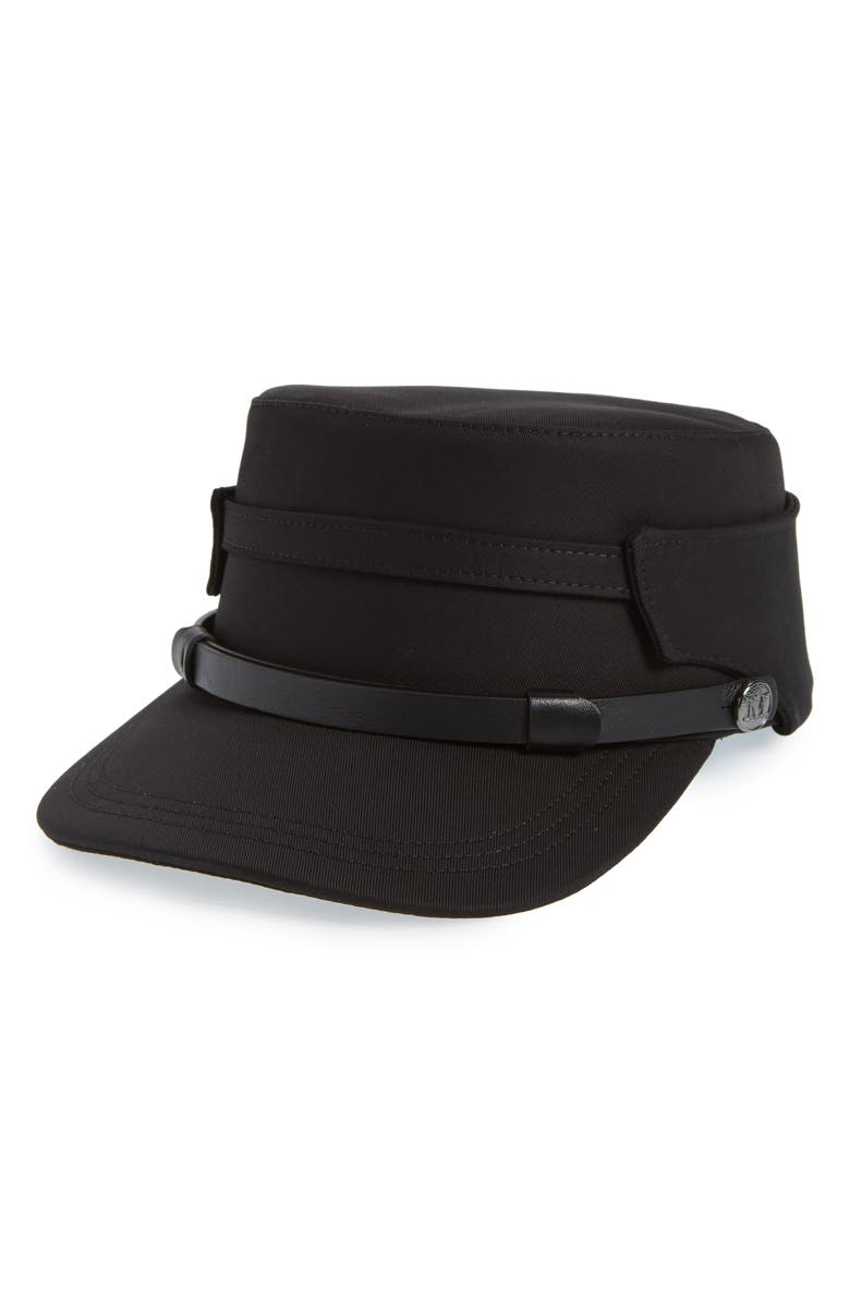 MAX MARA Elenice Cap, Main, color, BLACK